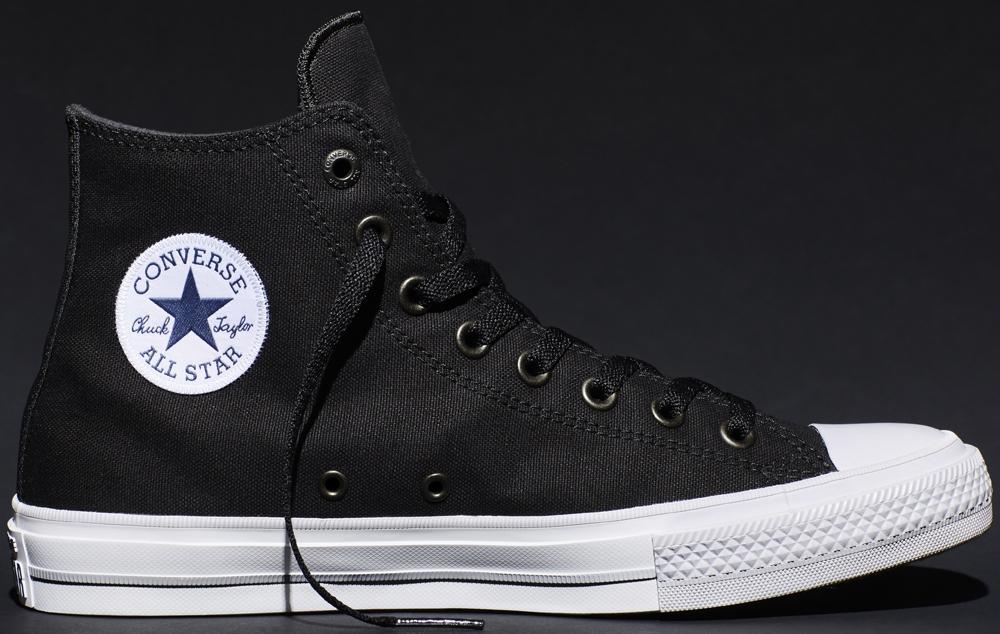 Converse Chuck Taylor All-Star II Hi Black/White