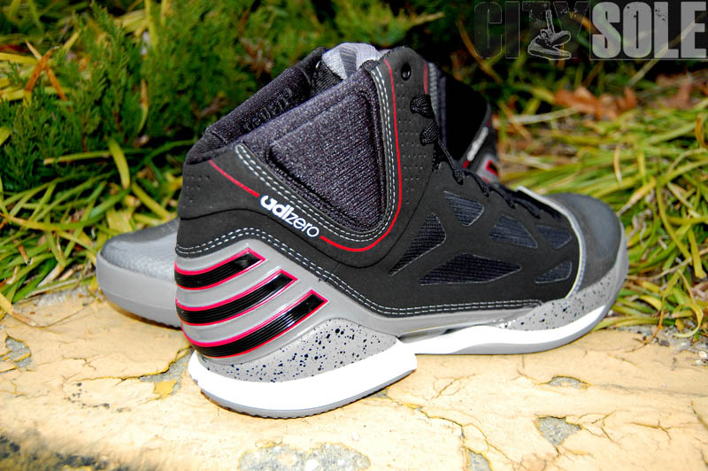 adidas adiZero Rose 2.5 Playoffs Cement Lead Black Scarlet G48886 (4)