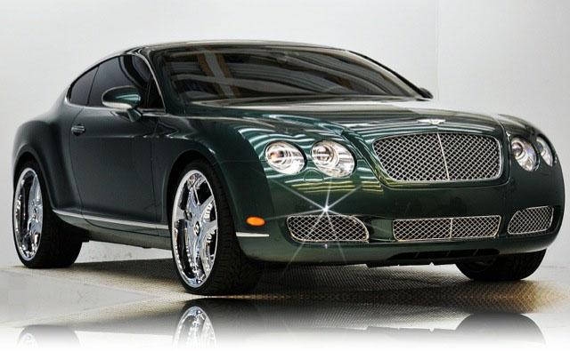 News: Michael Jordan Sells Bentley That Inspired Air ...