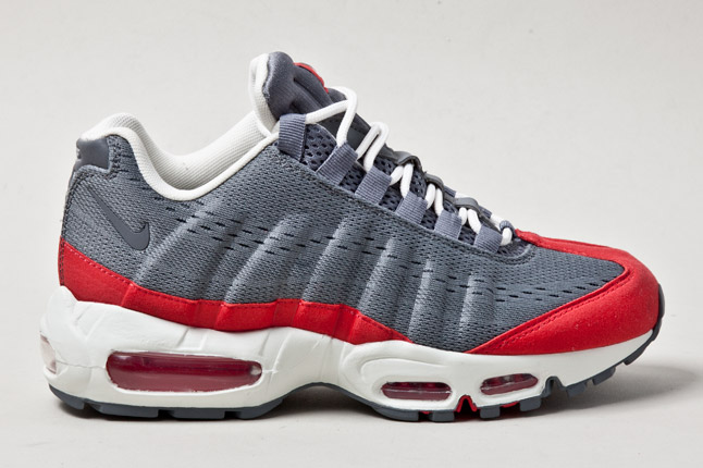 finest selection f51c3 6e99b As 2013 progresses, several new colorways of the Air Max 95 Engineered Mesh  will release, including a solid grey and red