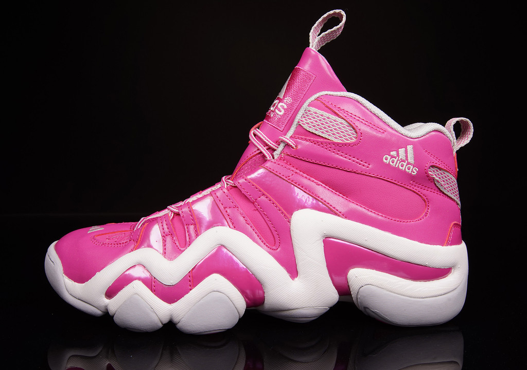 quality design 7ca95 7fb70 The Breast Cancer Awareness adidas Crazy 8 is available now at Oneness  and will be hitting other select adidas retailers in the coming weeks.