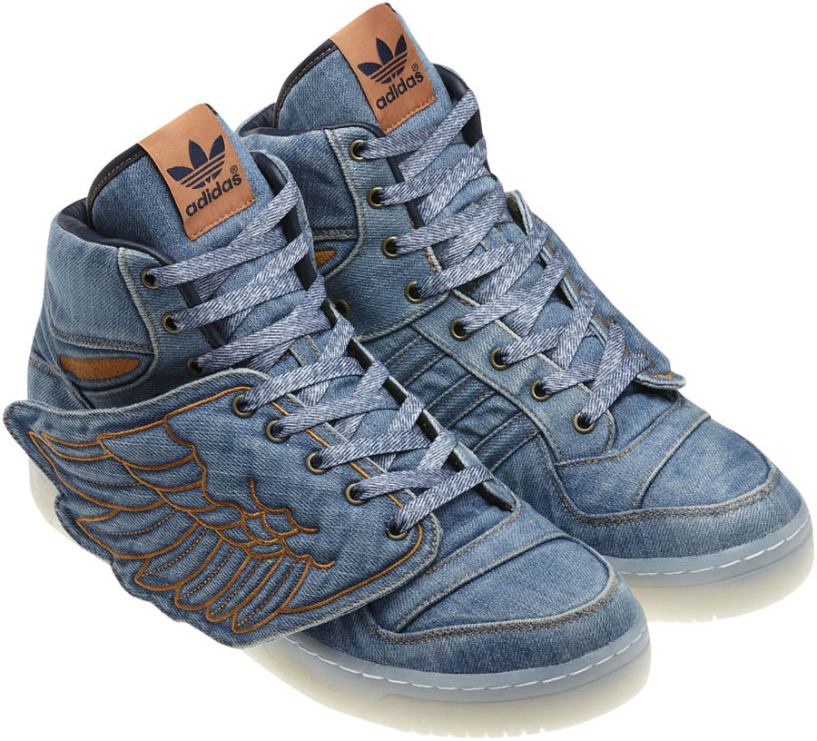 2307e0bc30c64 adidas Originals by Jeremy Scott - Spring Summer 2012 - JS Wings Denim  V24621 (