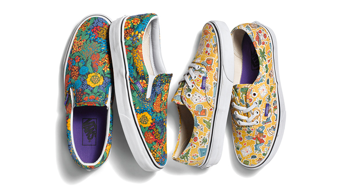 25831f4c8ff Vans and Liberty Create Alice in Wonderland Sneakers