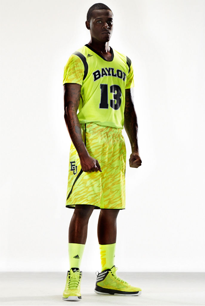 adidas Unveils adizero NCAA Basketball Uniforms For Six Teams - Baylor Bears