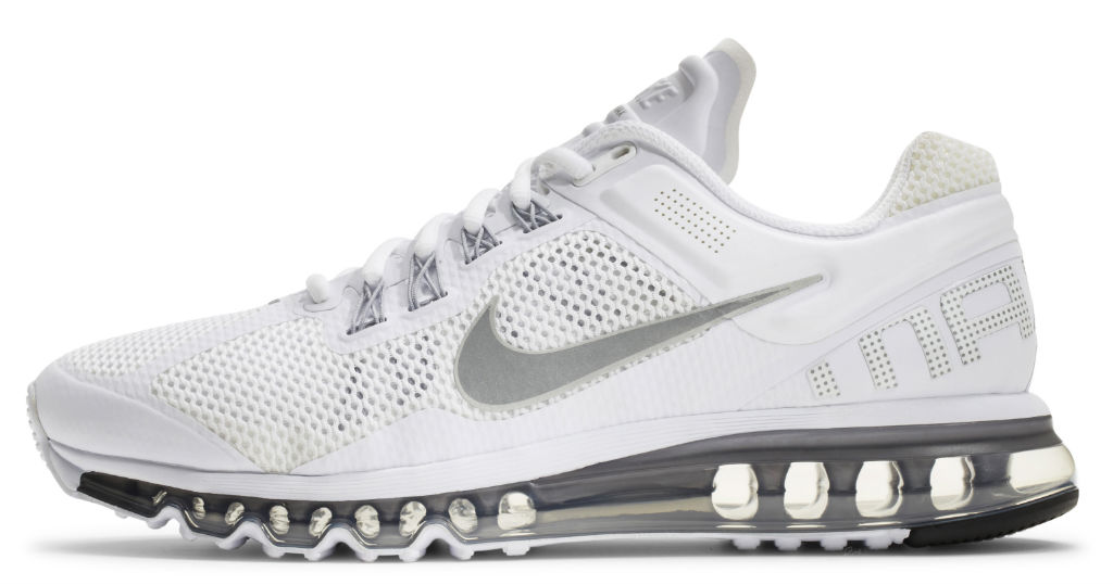 Nike Air Max+ 2013 Mens White (1)