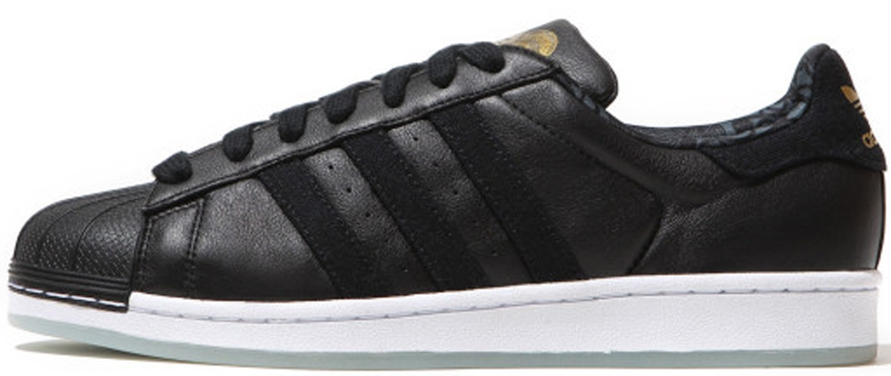 adidas Originals Superstar CNY Core Black/Metallic Gold-Running White