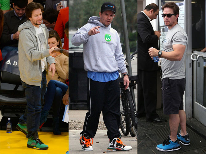 Celebrity Sneakerhead: Mark Wahlberg