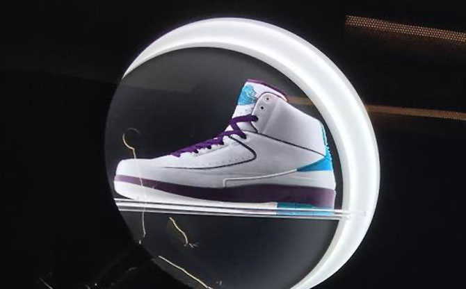 Air Jordan 2 Hornets Sample (2014)