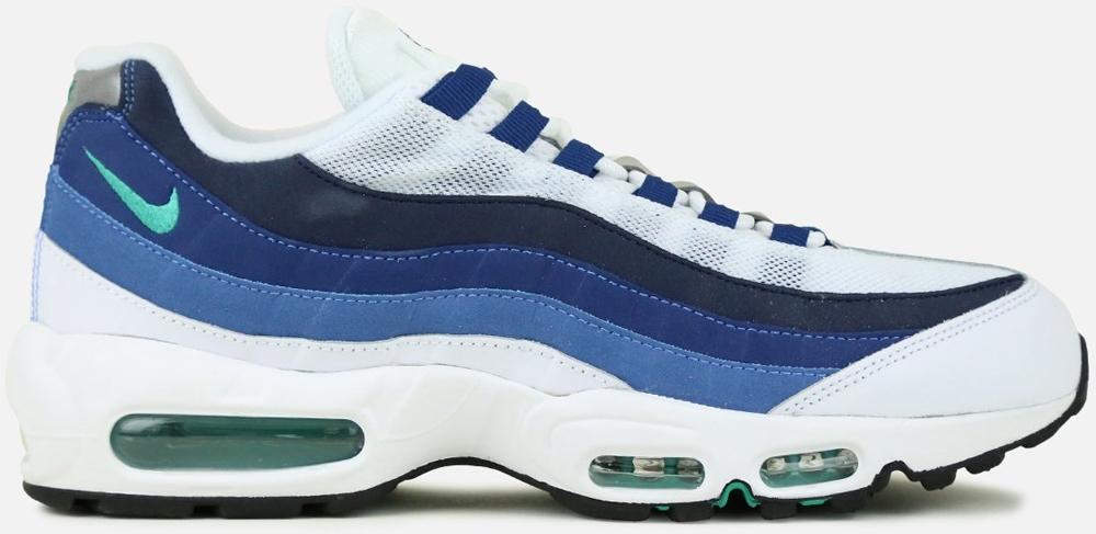 Nike Air Max '95 OG White/Emerald Green-Court Blue-New Slate