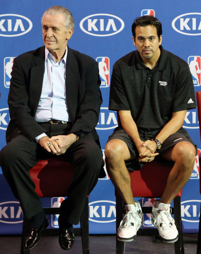 Real or Fake? // Erik Spoelstra's White/Cement Grey Jordan 4s