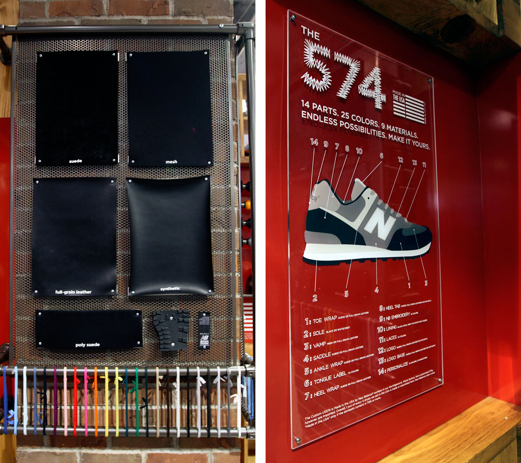 New Balance Kiosk for 574 Customization at Foot Locker in Times Square (7)