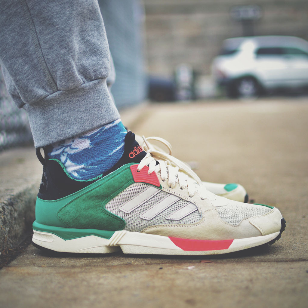 Jamrock84 wearing the adidas ZX 5000 RSPN