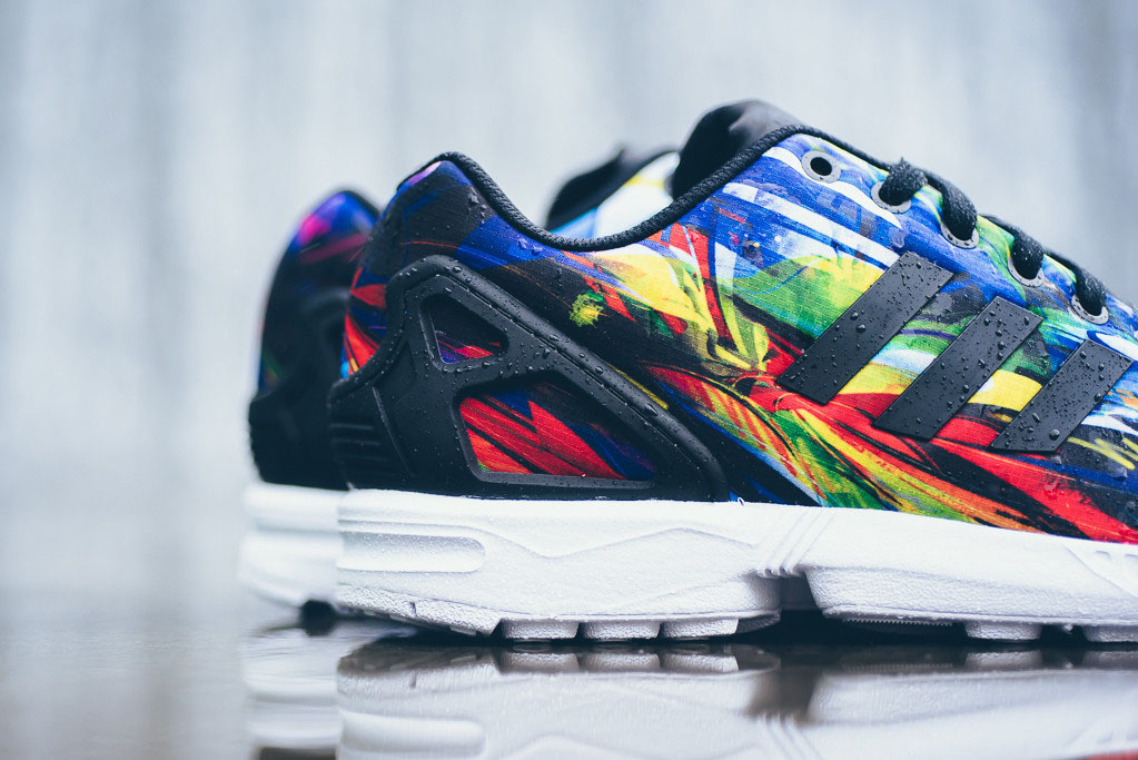 Adidas Zx Flux Multicolor Sole