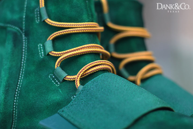 adidas Yeezy 750 Boost Green Moss Custom (3)