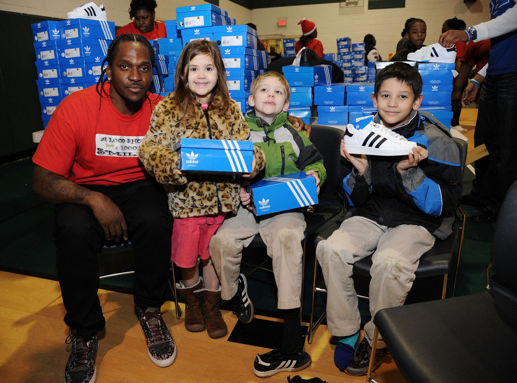 adidas Sponsors Pusha T 1000 Shoes for a 1000 Smiles Event (2)