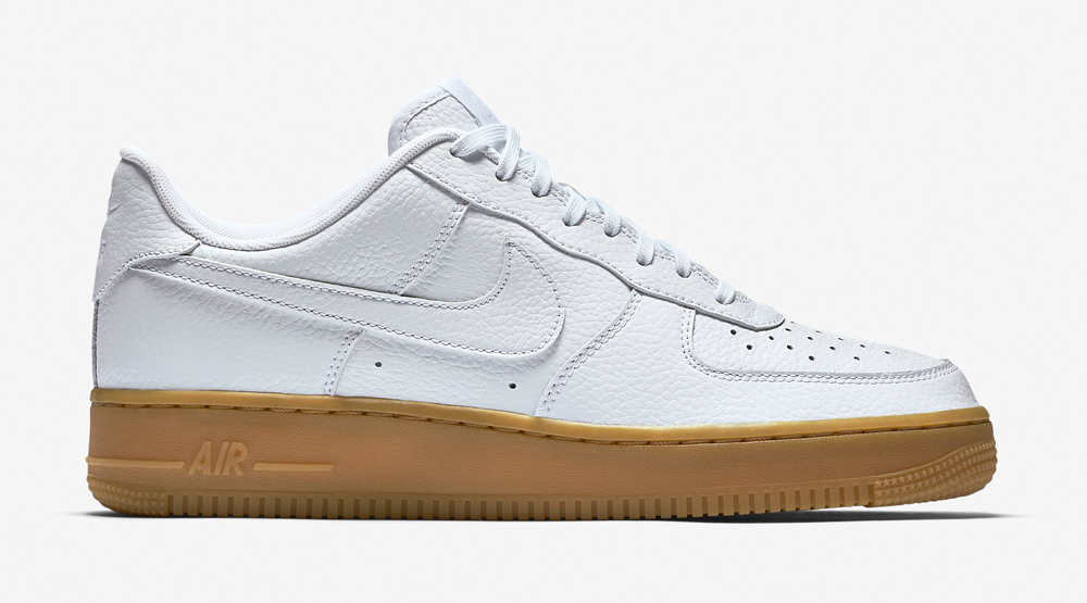 air force 1 with gum bottom