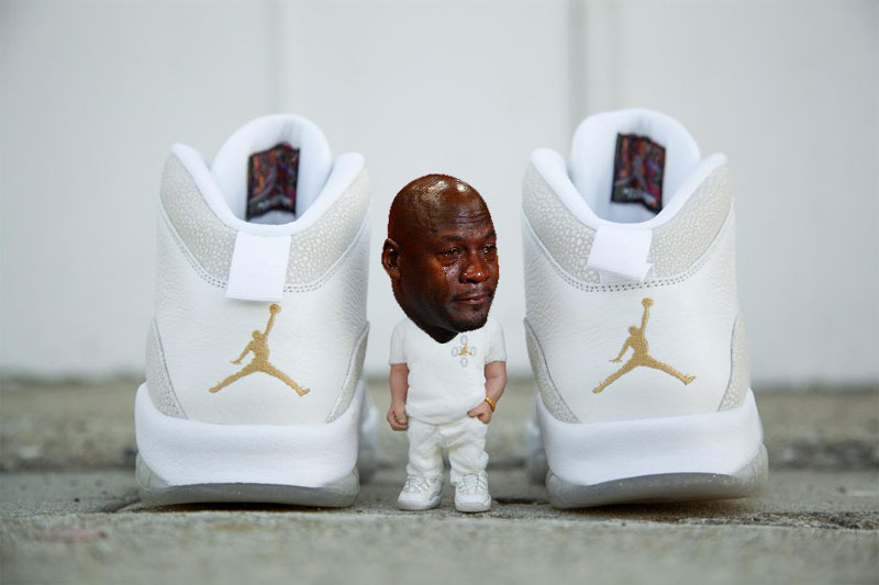 e726433bdfbf 20 Times Michael Jordan Cried Over Sneakers This Year