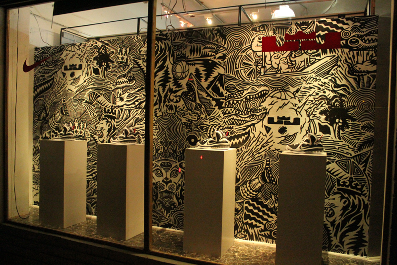Recap  Freegums x Nike LeBron 9    Shoe Gallery Miami Release Party ... 8644bd1af