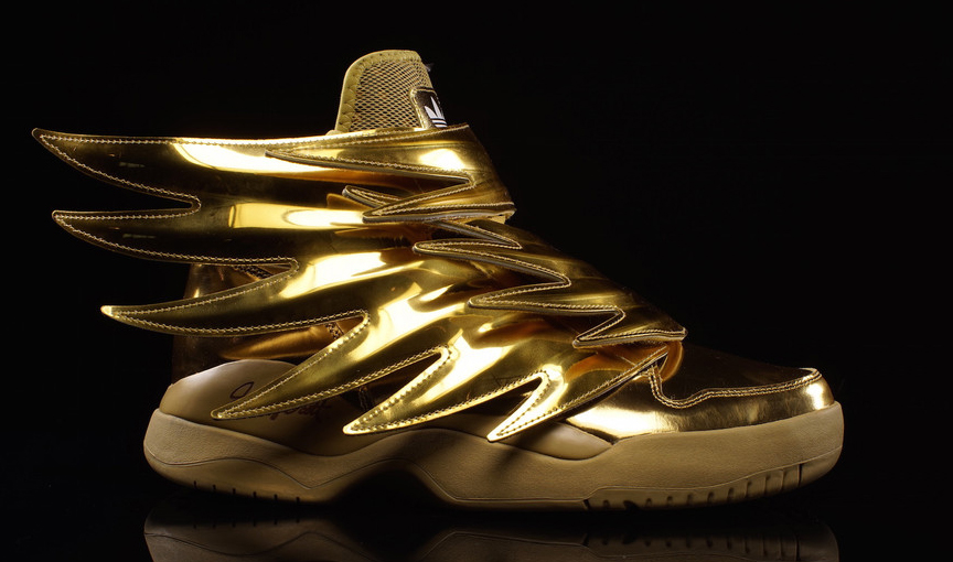 Jeremy Scott And Adidas Go For The Gold Sole Collector