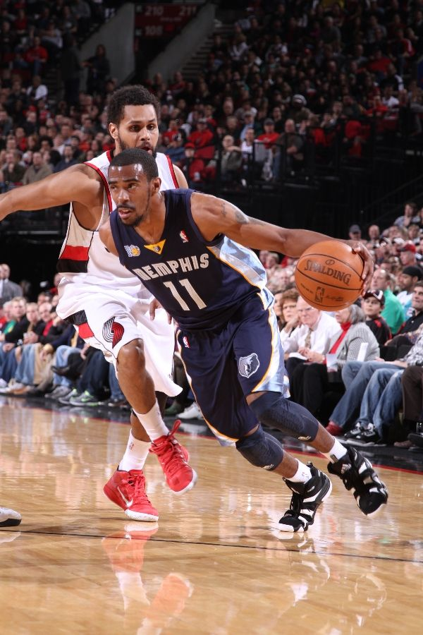 Mike Conley wearing the adidas Crazy 8