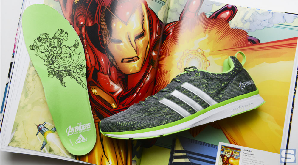 28d74d04ee305b Detailed Look at adidas   Avengers  Age of Ultron  Sneakers