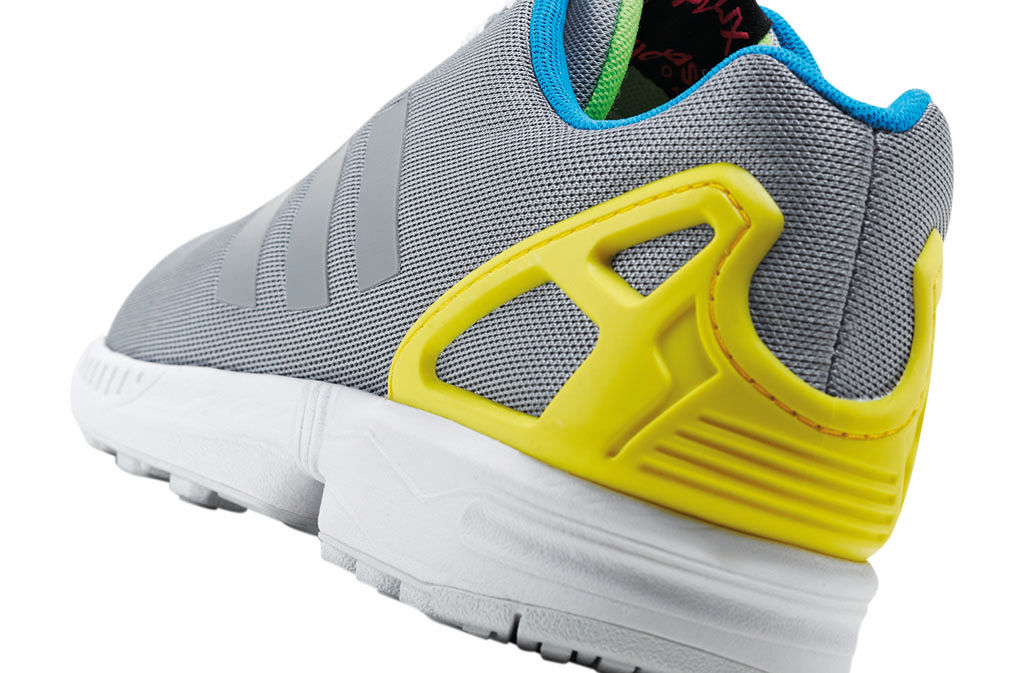 adidas ZX Flux Reflective Snake Pack Silver (3)