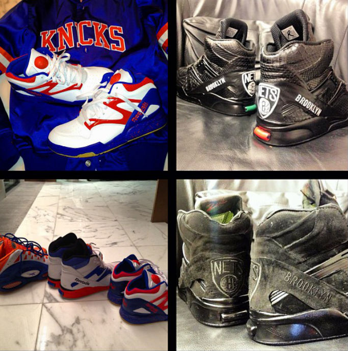 Reebok Classics // New York Knicks vs. Brooklyn Nets