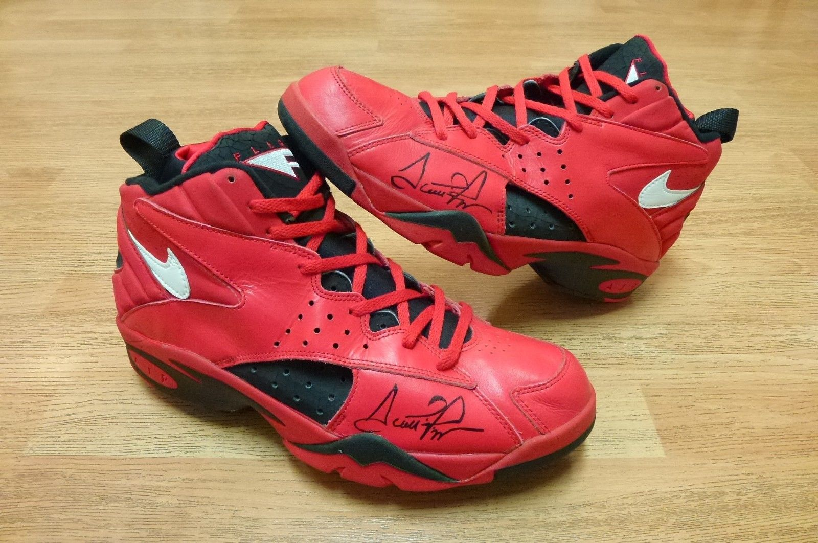 Scottie Pippen's All Star Rouge Nike Air Maestros on eBay Sole Collector