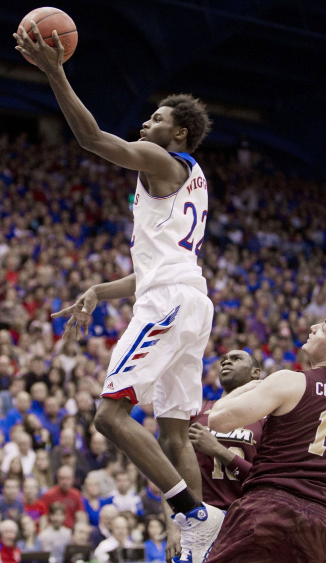 Andrew Wiggins Makes Kansas Debut in adidas Rose 773 2 PE (6)
