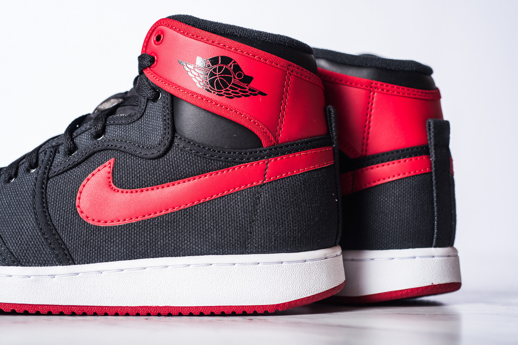 huge discount 11b07 ab97b See How the 'Bred' Air Jordan 1 KO Looks On-Feet | Sole Collector