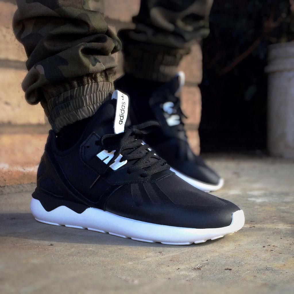 Adidas Tubular On Feet