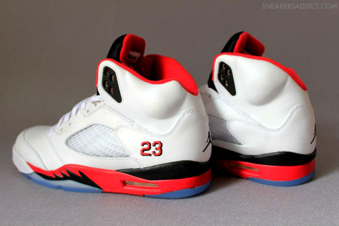 Air Jordan Retro V 5 Fire Red 136027-120 (2)