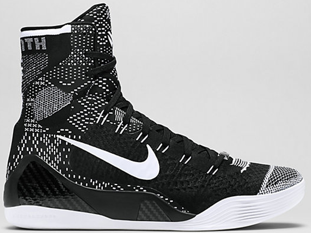 Nike Kobe 9 Elite BHM Black/White
