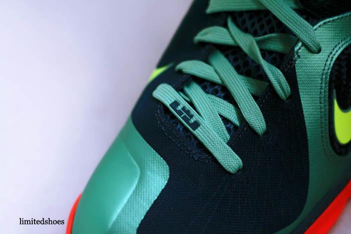 new style a4f8a a4216 Nike LeBron 9 Cannon Volt Slate Blue Team Orange 469764-004 4