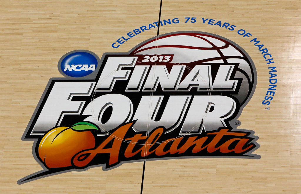 2013 NCAA Final Four Atlanta Court