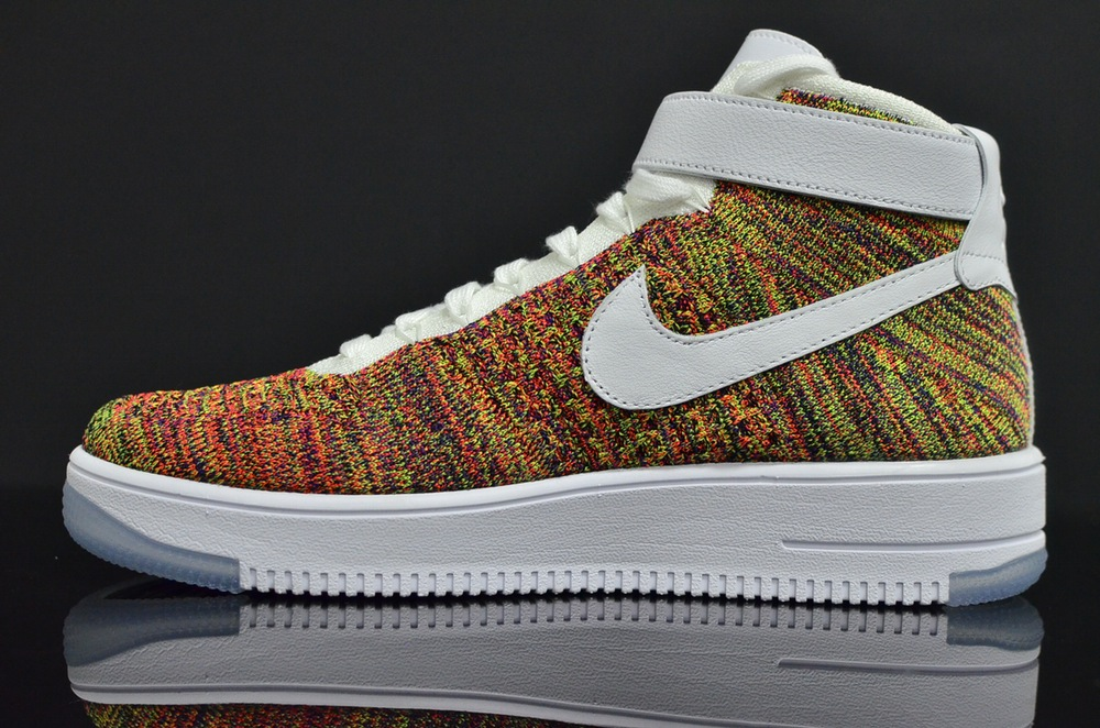 Multicolor Nike Air Force 1 Flyknit 817420-700 (14)