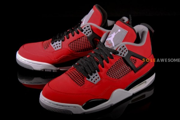 buy cheap a95cb a900c The Fire Red White-Black Air Jordan 4 Retro is expected to release this  October. Stay tuned to Sole Collector for further details.