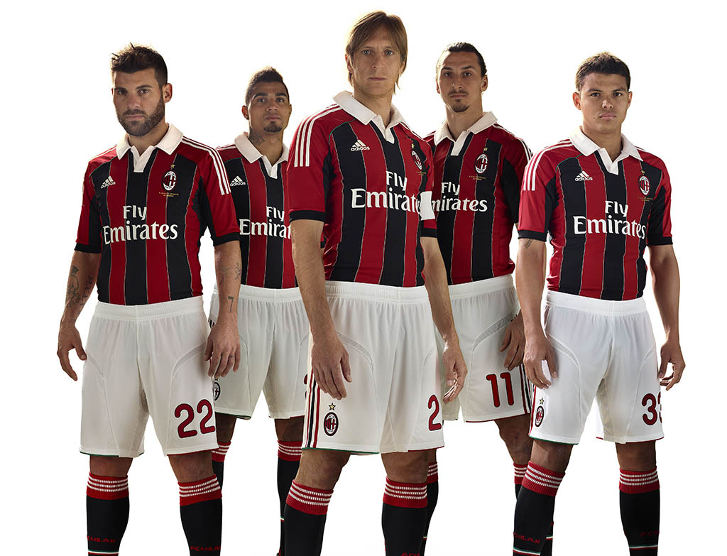 purchase cheap a5173 5aa6d adidas Unveils New 2012-2013 A.C. Milan Jersey | Sole Collector