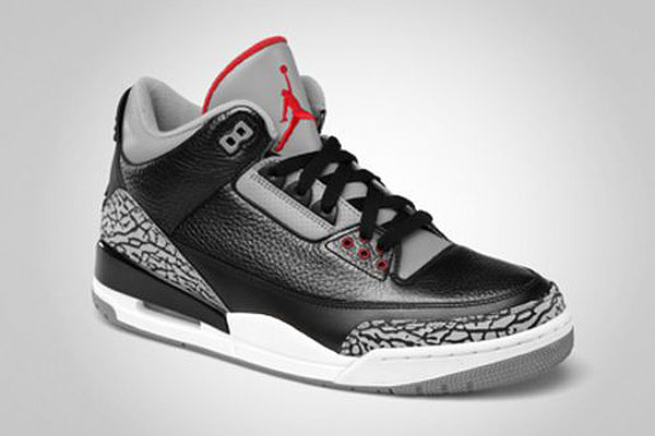 air jordan retro 3 black cement grey