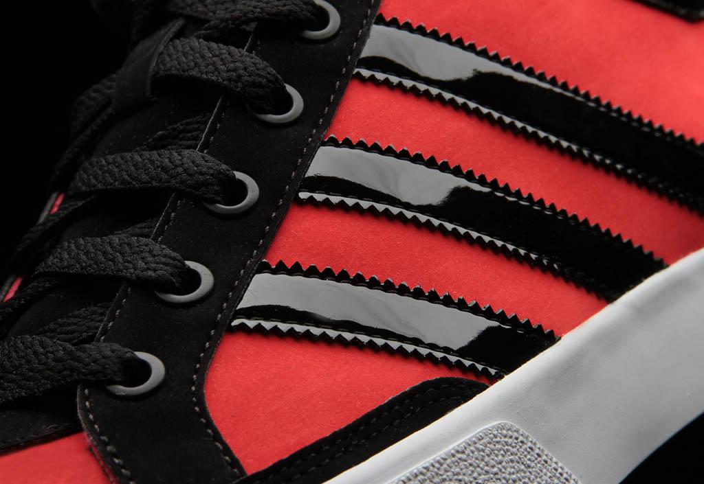 adidas Originals Camo Pack Top Court Mid Shoes Infrared Black (4) 0b527cc5a