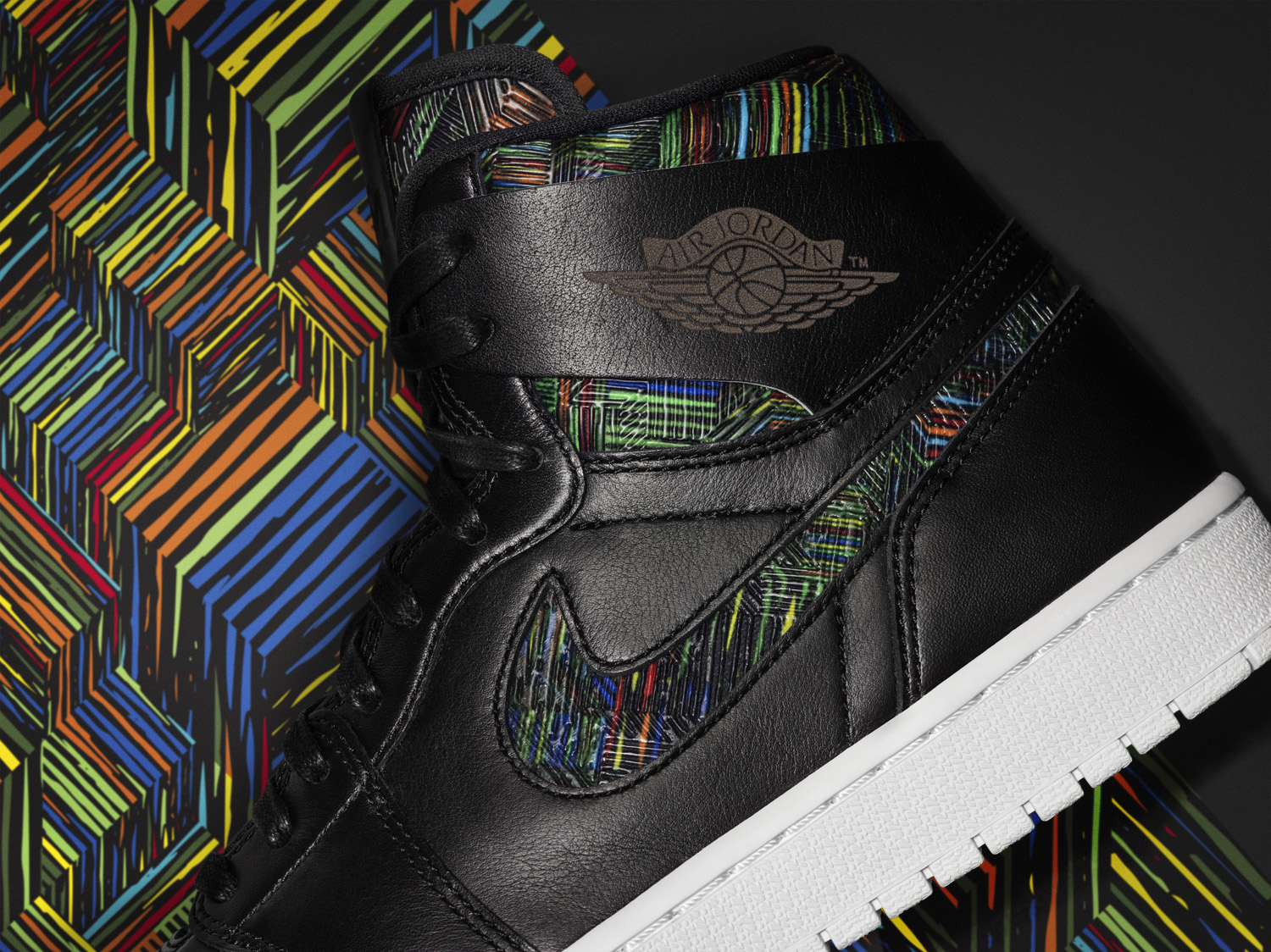 0af5bc5988a3 Spike Lee s Sneakers Show Up for Air Jordan  BHM  Collection