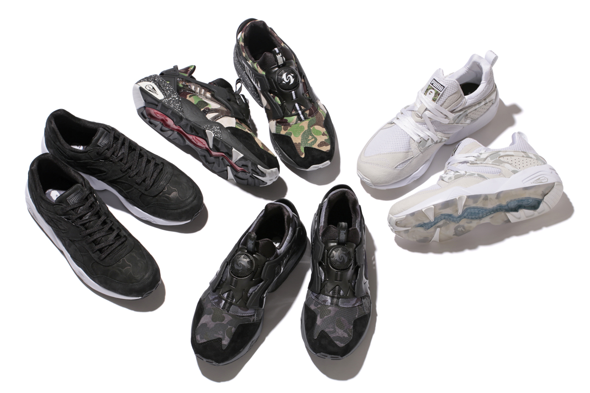 4b8e53b65d9f Puma Is Releasing a Ton of BAPE Sneakers and Apparel