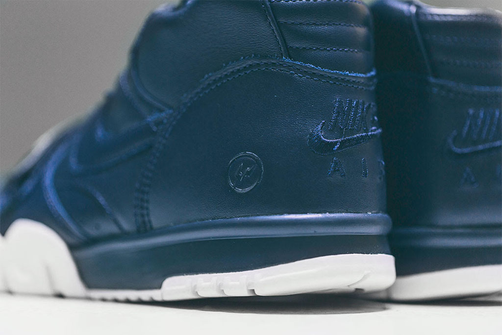 best service 544bc 74a98 fragment design x Nike Air Trainer 1 US Open Navy (4)