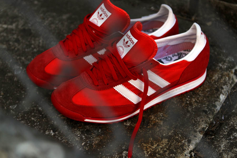 adidas Originals SL72 Spring 2012 Red (1)