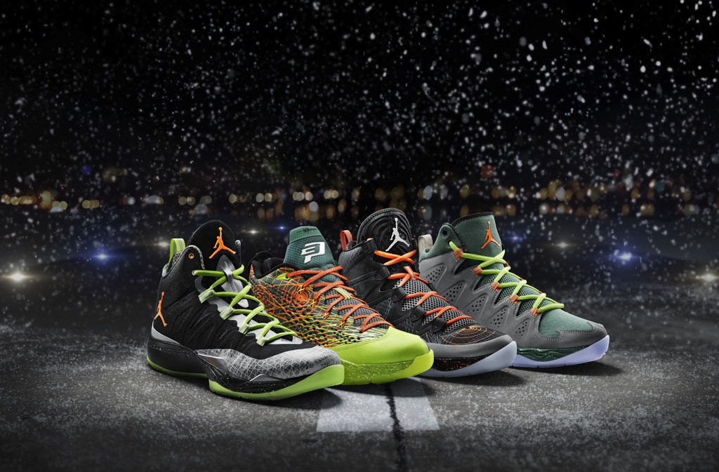 san francisco 62e42 41037 Jordan Brand Unveils 'Flight Before Christmas' Pack for ...