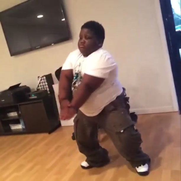TerRio wearing Air Jordan 10 Powder