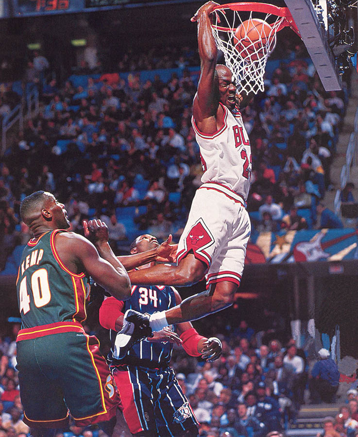 1ee86605bb6 Flashback    Michael Jordan Wearing the