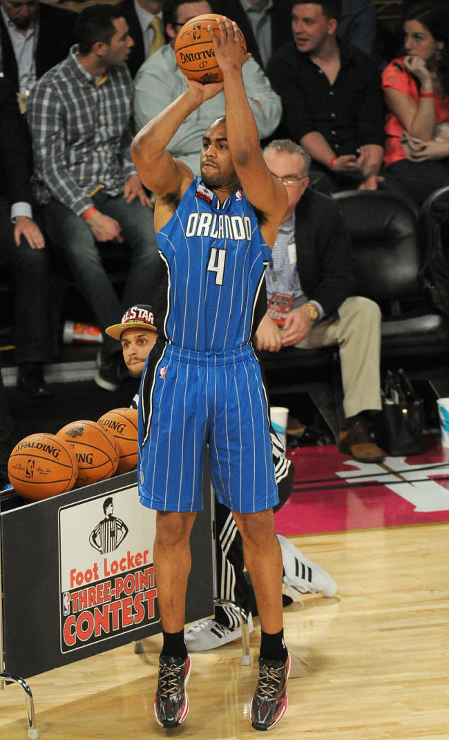 Arron Afflalo wearing adidas Crazy Light 3 Low PE