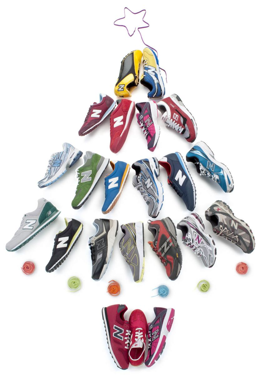 Christmas Shoe Tree.New Balance Tops Off Your Tree This Christmas Sole Collector