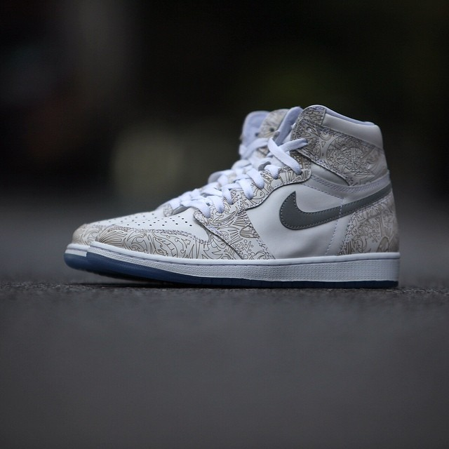 5fab8dcc48a The Air Jordan 1 Lasered for Jordan Brand's 30th Anniversary | Sole ...